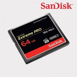 CF 64GB 160mb/s