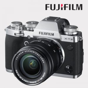FUJI X-T3 + 18-55 2,8-4 R LM OIS SILVER
