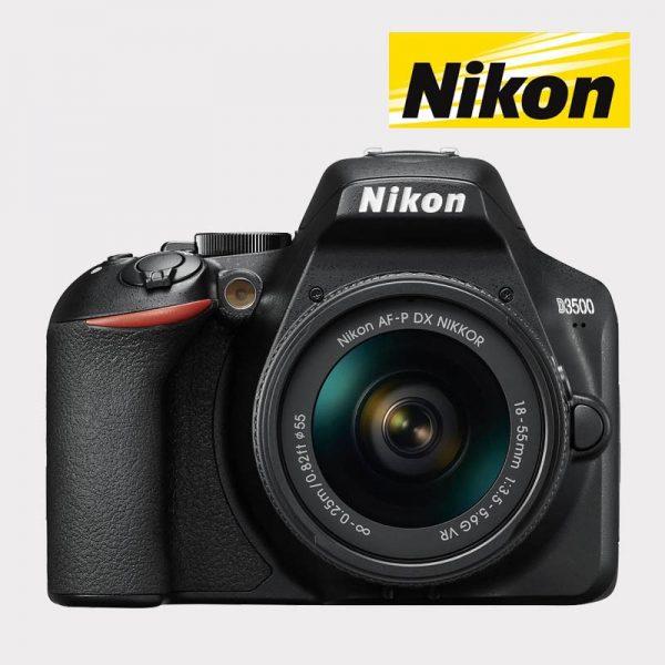 NIKON D3500 + AF-P 18-55 3,5-5,6G ED VR