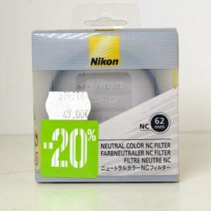 NIKON NC 62MM