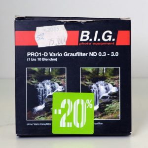 BIG ND VARIO ND 0.3-3.0 52MM