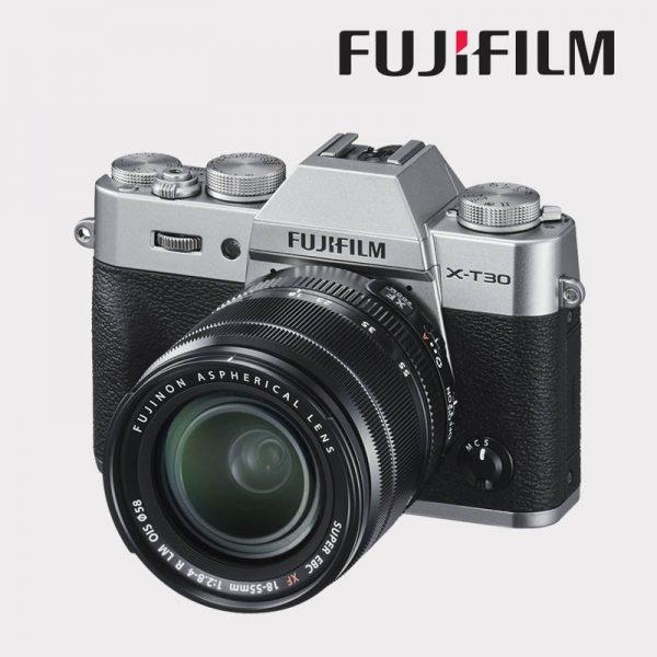 FUJI X-T30 + 18-55 2,8-4 R LM OIS WR SILVER